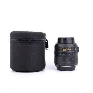 Image 1 - 7.5x9cm Camera Lens Pouch Lens Case Bag for 18 55mm 50mm f/1.8  35mm Canon Nikon