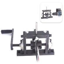 Ręczna wiertarka elektryczna dwufunkcyjna maszyna do ściągania izolacji z przewodów złom maszyna do obierania kabli Stripper do 1-30mm