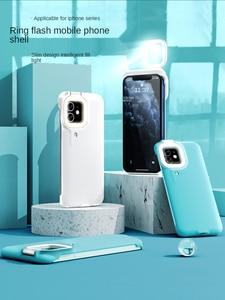 Image 1 - Capa de celular com flash e luz de led, para iphone 7, 8, x, xs max, xr, 12, 12 pro max, 12