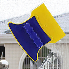 Wiper Glass-Cleaner Cleaning-Tool Window-Brush Double-Sided Household Magnetic