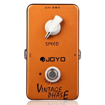 JOYO JF-06 Vintage Phase Guitar Effect Pedal Phaser Effects Guitar Pedal True Bypass Guitar Accessories joyo classic flanger electric guitar effect pedal true bypass jf 07 with free connector