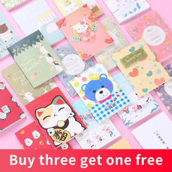 Купить 3 получить 1 бесплатно Kawaii мультфильм тетрадь детский сад ребенок практика слово пуля дневник живопись 1 шт. книга путешественников