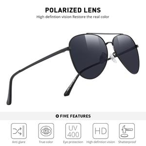 Image 2 - MERRYS 디자인 남자 클래식 파일럿 선글라스 HD 편광 된 태양 안경 남자 여자 UV400 보호 s8134에 대 한 낚시 안경 운전