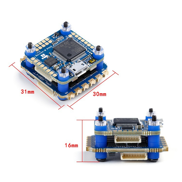IFLIGHT Succ E X-E F4mini Flight Control + 35A Four-in-One Electrical Adjustment Double Layer Fortinet FPV Through Machine