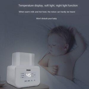 Image 3 - Haier Flessenwarmer Sterilisator Ultra Stille 2in1 Baby Melk Warmer 24 Uur Thermostaat Snelle Verwarming Melk Babies Voedsel warmer