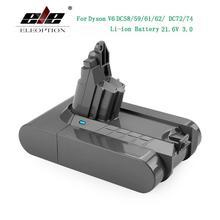 3000mAh 21.6V 3.0 Li ion Battery for Dyson V6 DC58 DC59 DC61 DC62 DC74 SV09 SV07 SV03 965874 02 Vacuum Cleaner Battery & 2.2mAh