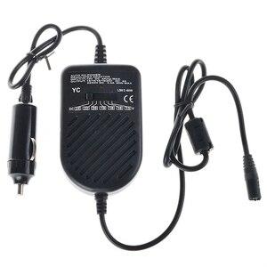 Image 4 - 80ワットユニバーサル車の充電器自動dc 12v電源アダプタ電源の充電ノートパソコンのpc用充電アダプタで車のシガープラグ