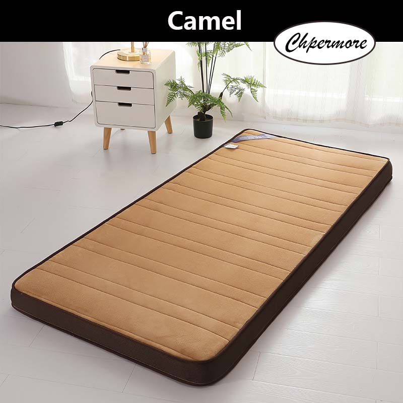 Image 2 - Chpermore Thick flannel Mattress Tatami stereoscopic Comfortable Mattresses Bedspreads King Queen Twin Full Size-in Mattresses from Furniture