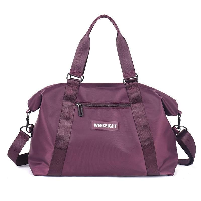 Women Fashion Big Travel Bag Waterproof Oxford Shoulder Duffel Bag Men Travel Organizer Garment Bags Multi-function Weekend Bags