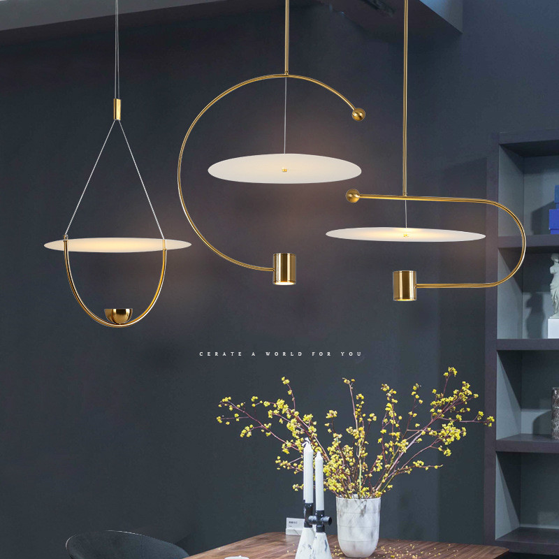 Nordic Simple Pendant Lights Dining Room Living Room Personality Hanging Lamp Cafe Bar Pendant Lamp Home Decor Light Fixtures