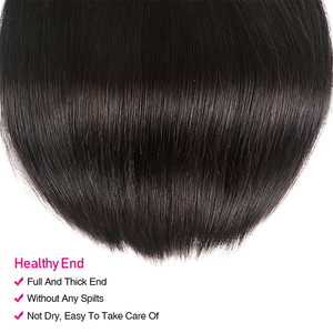 Image 5 - UNICE HAIR Malaysian Straight Hair Extension 8 30 Inch Natural Color Human Hair Bundles 100% Remy Hair Weave 1/3/4 Pieces