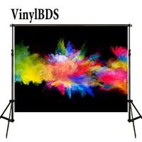 VinylBDS خلفية مجردة الخلفيات الملونة Blcak خلفيات الحائط الاطفال شخصية صور للأطفال التصوير الفوتوغرافي