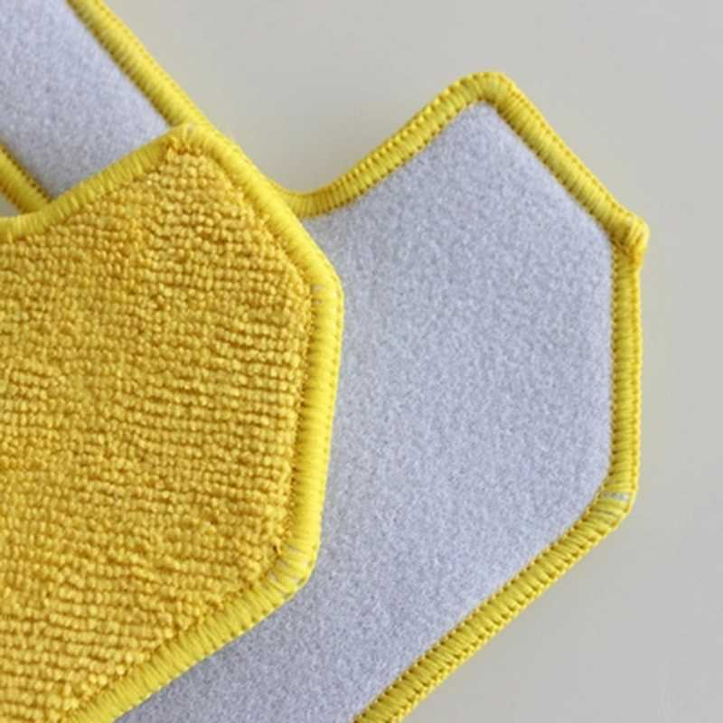 Fregona húmeda de 5 uds para Hobot 268, paño de mopa para limpiar ventanas de vidrio, limpiador de paño de microfibra