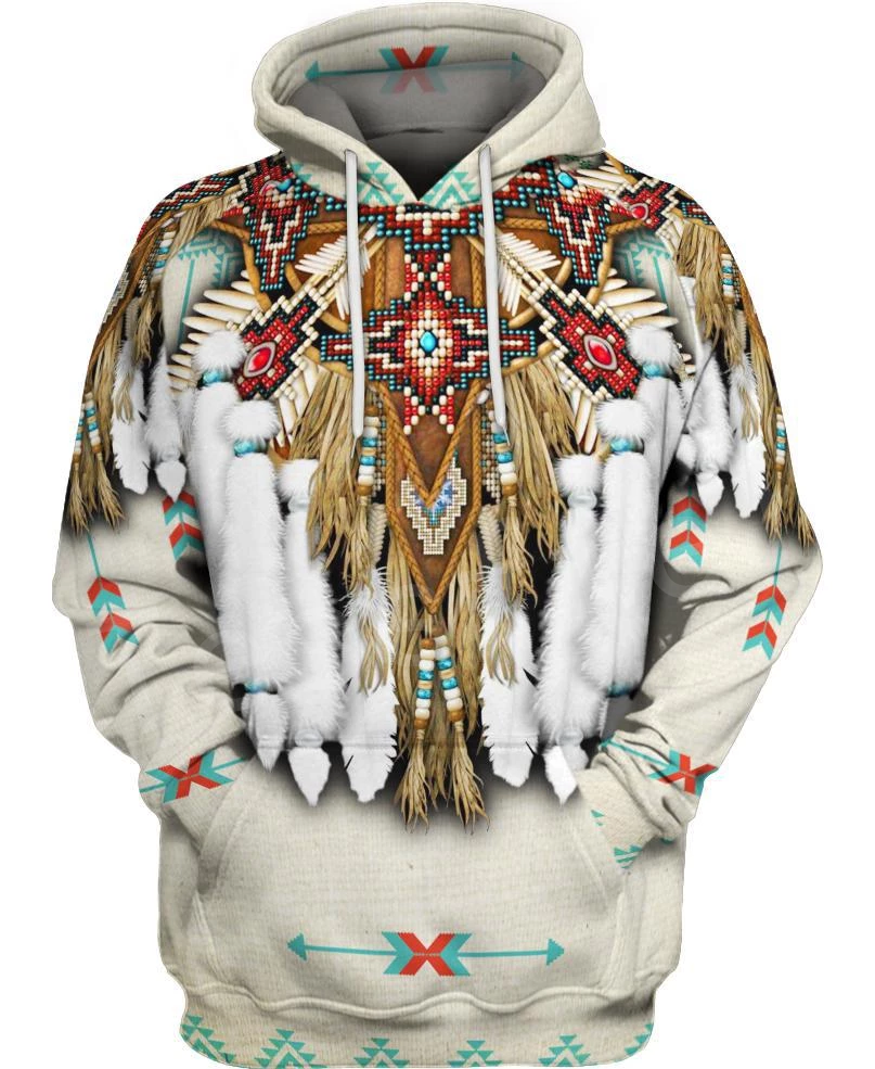 Tessffel Indian Native Harajuku Casual Colorful Tracksuit New Fashion 3Dfull Print Hoodie/Sweatshirt/Jacket/Men Women S25
