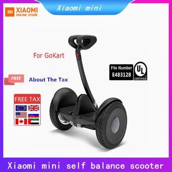 Ninebot-patinete eléctrico inteligente Xiaomi Mijia Mini de dos ruedas, patín para Go kart
