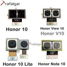 كاميرا خلفية لهاتف Huawei Honor 10 View 10 V10 نوت 10 كاميرا مزدوجة كبيرة رئيسية لهاتف Honor 10 Lite كاميرا خلفية وحدة استبدال كابل مرن