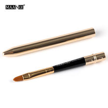 Simple Newest Portable Professional Lip Brush Cosmetic Make Up Beauty Tool Brushes