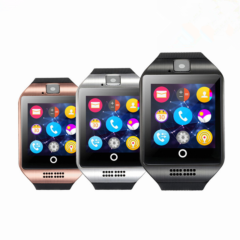 Sport watch smart camera, compatible with SIM card TF for IOS Android Colors