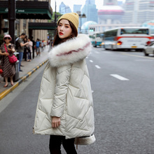 Fashion Autumn Warm Winter Jackets Women Fur Collar Long Parka Plus Size Lapel Casual Cotton Womens Outwear Park XXXL
