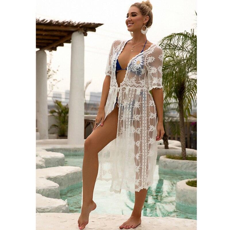 New Kimonos Beachwear Hand-Woven  Women Swimwear  4