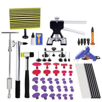 Инструменты для ремонта автомобиля PDR Инструменты для ремонта кузова автомобиля безболезненные инструменты для удаления вмятин скользящи...