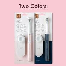 SOOCAS Xiaomi Mijia sonic חשמלי מברשת שיניים כך לבן EX3 Ultra sonic נייד אוטומטי שן מברשת USB נטענת רחיץ