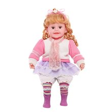 silicone girl doll princess toys plush girls dolls poupee barbies original lol dolls surprise brinquedo menina doll(China)
