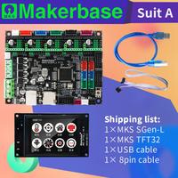 3D Printer Papan Utama Sesuai dengan MKS SGEN_L & MKS TFT32 Dukungan Beberapa Driver Dapat Mencetak dengan Kartu SD dan USB-PC
