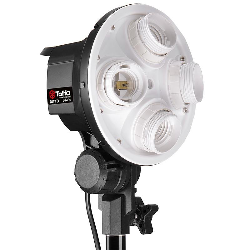 Tolifo Trichromatic Quadruple Lamp Camlight Softbox Set Taobao Items Filming Wholesale