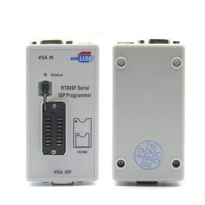 Image 5 - Freies Verschiffen 100% Original Neueste RT809F ISP Programmierer/RT809 lcd usb programmierer Reparatur Werkzeuge 24 25 93 serise IC