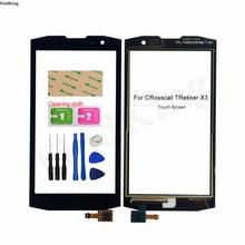 Touch Screen For CRosscall TRekker X3 Touch Screen Digitizer Front Glass Sensor Touch Panel Replacement Part