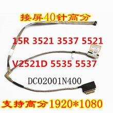 Para 3521 3537 5521 5535 5537 atualização cabo de alta resolução 0W08FN DC02001N400