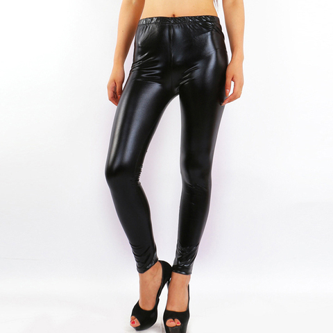 Pants Wearing Tight-fitting Stretch Leggings In Spring And Summer Korean Version Of Fashion-proof Leather Slimming Pants Pakistan