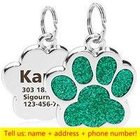 Dog paw-Green