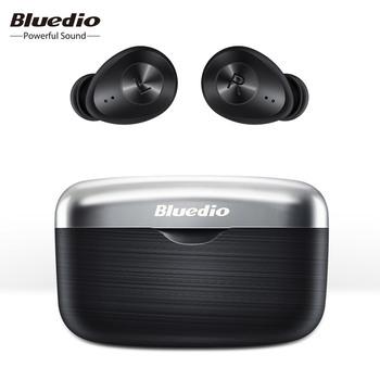 Bluedio Fi Bluetooth słuchawki TWS 5 0 bezprzewodowe słuchawki douszne wodoodporny zestaw słuchawkowy dla aktywnych bezprzewodowe słuchawki w uchu z etui z funkcją ładowania tanie i dobre opinie Dynamiczny wireless Ucho 110dBdB Dla Telefonu komórkowego Słuchawki HiFi Sport Typ linii Instrukcja obsługi Etui do ładowania