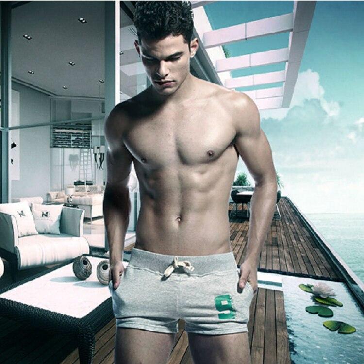 New Fashion Casual Men's Shorts With Inside Pocket Summer Leisure Men's Trunks Comfort Homewear Fitness Workout Shorts Men