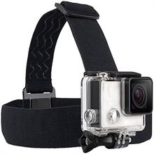 يرتدي عقال رئيس حزام حزام جبل مع المسمار ل Gopro بطل 9 8 7 6 4K عمل الرياضة كاميرا الذهاب برو اكسسوارات جبل