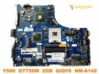 Original para lenovo y500 computador portátil placa mãe y500 gt750m 2 gb qiqy6 NM A142 testado bom frete grátis|Placa-mãe para notebook|Computador e Escritório -