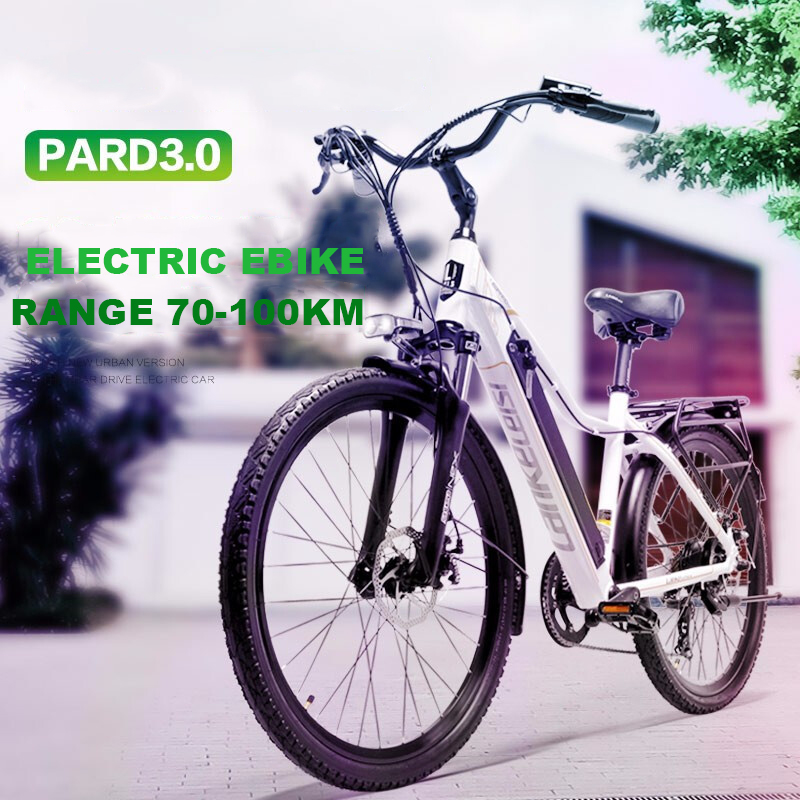 Excellent 26inch Electric mountain bike 36V lithium battery travel electric bicycle lighweight Ebike 0