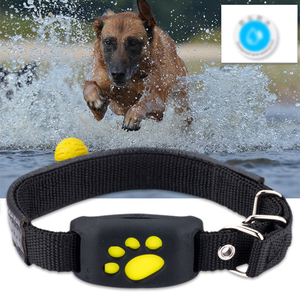 New Pet GPS Tracker Collar Dogs Cats Waterproof Dog GPS Positioner Locator Device USB Cable Rechargeable Pet Dog Security Fence(China)