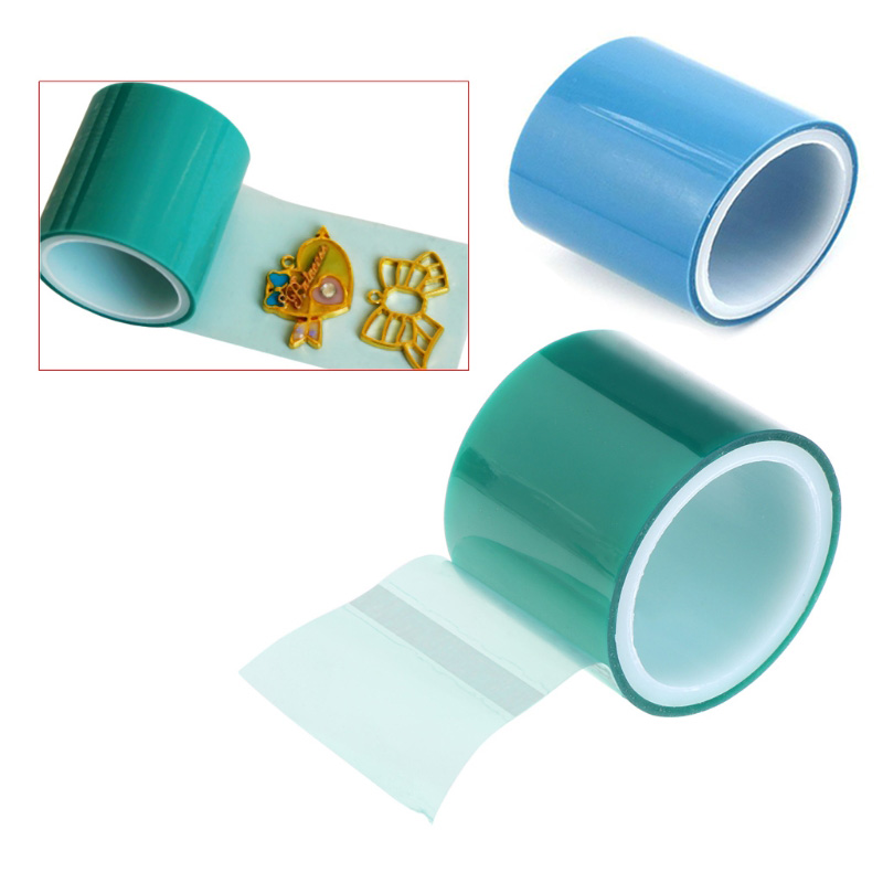 5m UV Resin Paper Tape DIY Epoxy Resin Crafts Tools Metal Frame Anti-leak Glue Adhesive Transparent Bottom Jewelry Making Tools