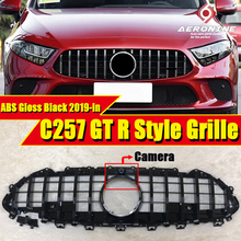 New CLS C257 GTS Style Grill ABS Black For MercedesMB Class Facelift Auto Front Grille CLS300 CLS350 CLS450 CLS500 CLS53 19+