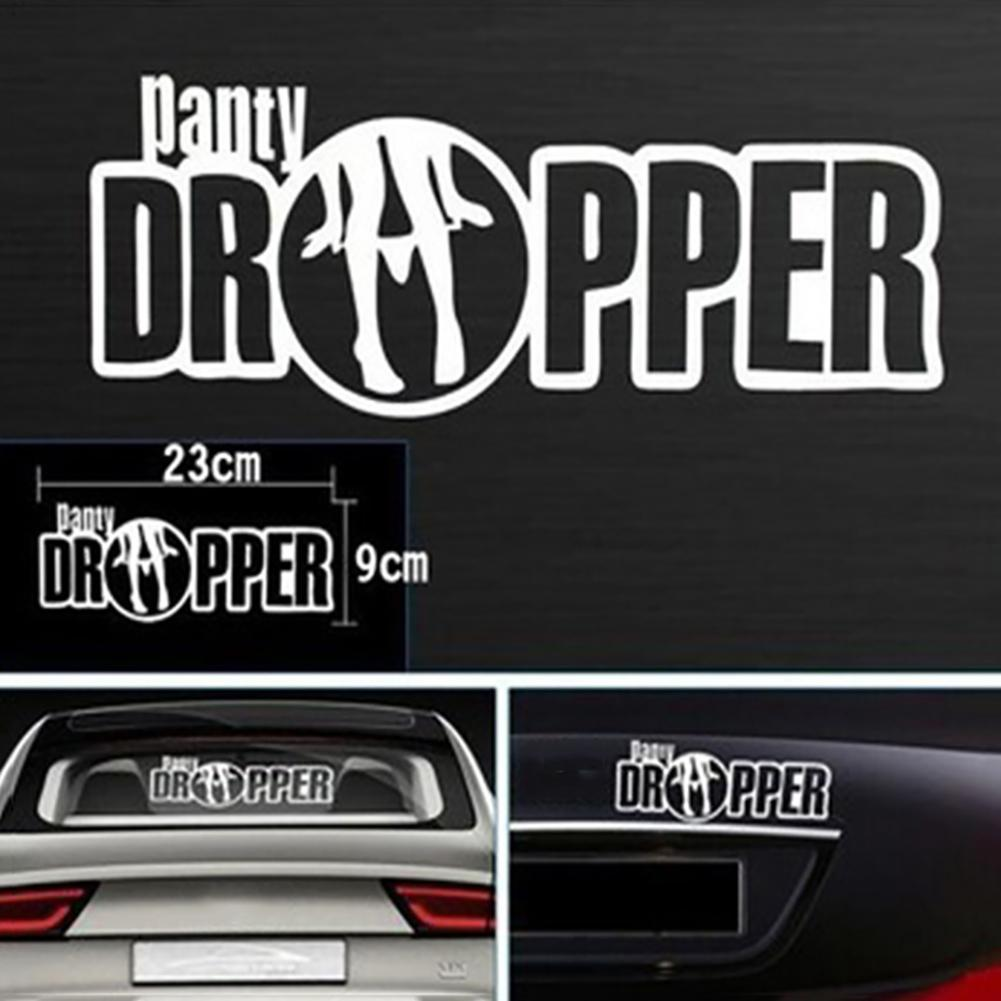 funny <font><b>car</b></font> stickers <font><b>Sexy</b></font> Bikini Lady Panty Dropper <font><b>Car</b></font> Truck Decal Window Sticker Cool Decoration on Motorcycle Suitcase Home image
