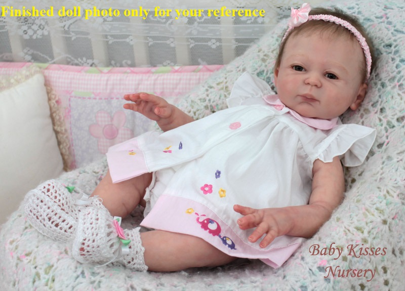 Npk Carmela Reborn Doll Kit Diy