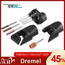 Sharpening โรตารี่สำหรับ Dremel เครื่องมือเจาะสิ่งที่แนบมาสำหรับโลหะไม้แกะสลักภาษาโปลิชคำตัดอุปกรณ์เครื่องมือโรตารี่