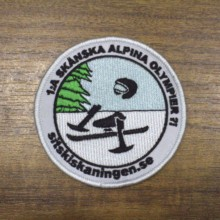 цена на customized products order custom badges DIY your own Apparel Sewing & Fabric Badges 09