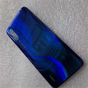 Image 3 - 100% original de vidro para xiaomi cc9 caso capa de bateria peças de reposição para xiaomi cc9e/a3 bateria volta capa porta telefone habitação caso