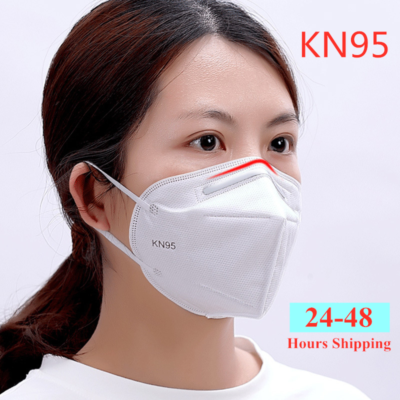10 Pcs KN95 Dustproof Anti-fog And Breathable Face Masks Filtration Anti Virus N95 Masks Features