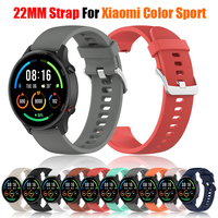 22Mm Voor Xiaomi Horloge Kleur Sport Editie Riem Voor Amazfit Gtr 47Mm Siliconen Band Vervanging Armband Horlogebanden Polsband