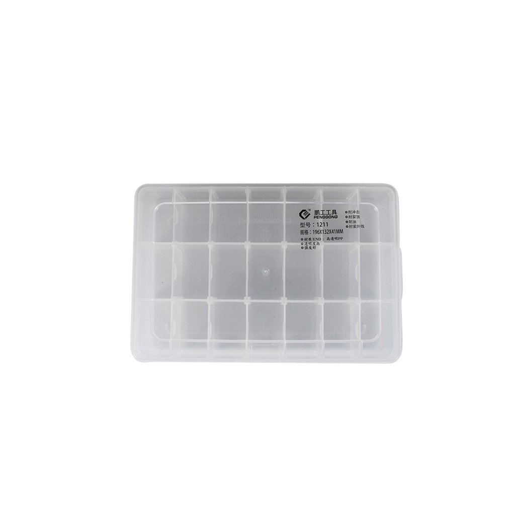 Plastic Tool Box Transparent Toolbox Electronic Components Screw Storage Box Electronic Plastic Parts Tool Boxes